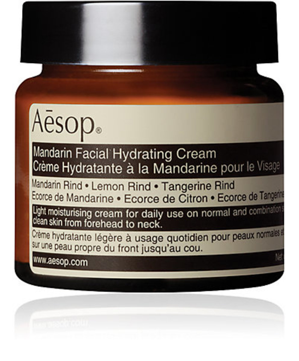 Aesop Mandarin Facial Hydrating Cream, $49, available at Barneys.