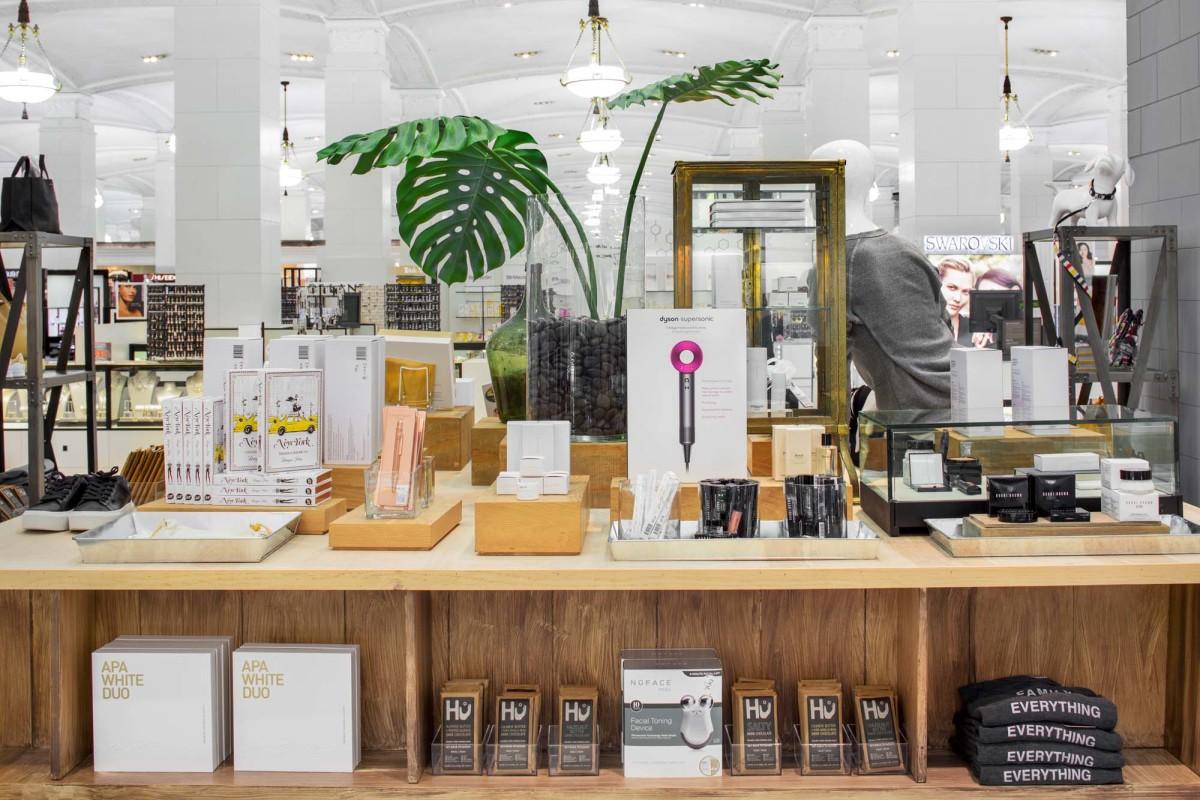 justBobbi concept shop at the Lord & Taylor Manhattan flagship. Photo: courtesy