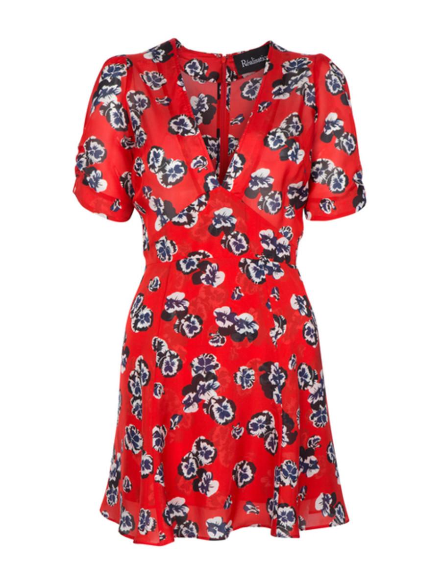 Réalisation Par Ozzie Dress in Pansy, $170, available at Réalisation Par.