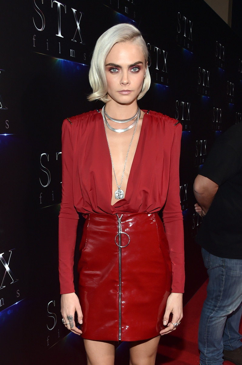 Cara Delevingne. Photo: Alberto E. Rodriguez/Getty Images