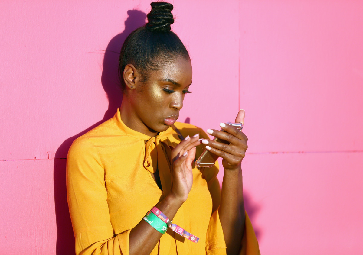 Millennial Pink + Mustard Yellow = Very On Trend. Photo: Rich Fury/Getty Images