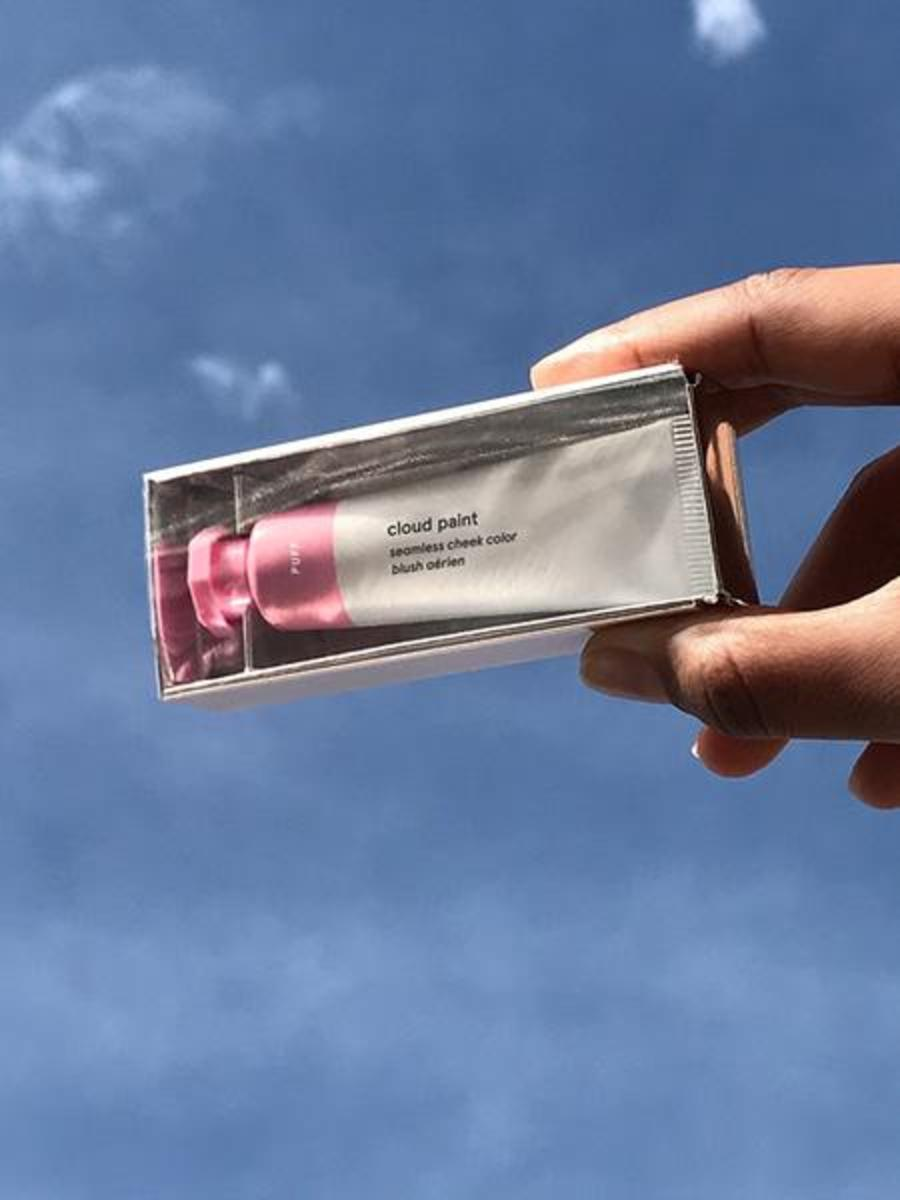 Glossier Cloud Paint in Puff, $18, available at Glossier. Photo: Glossier