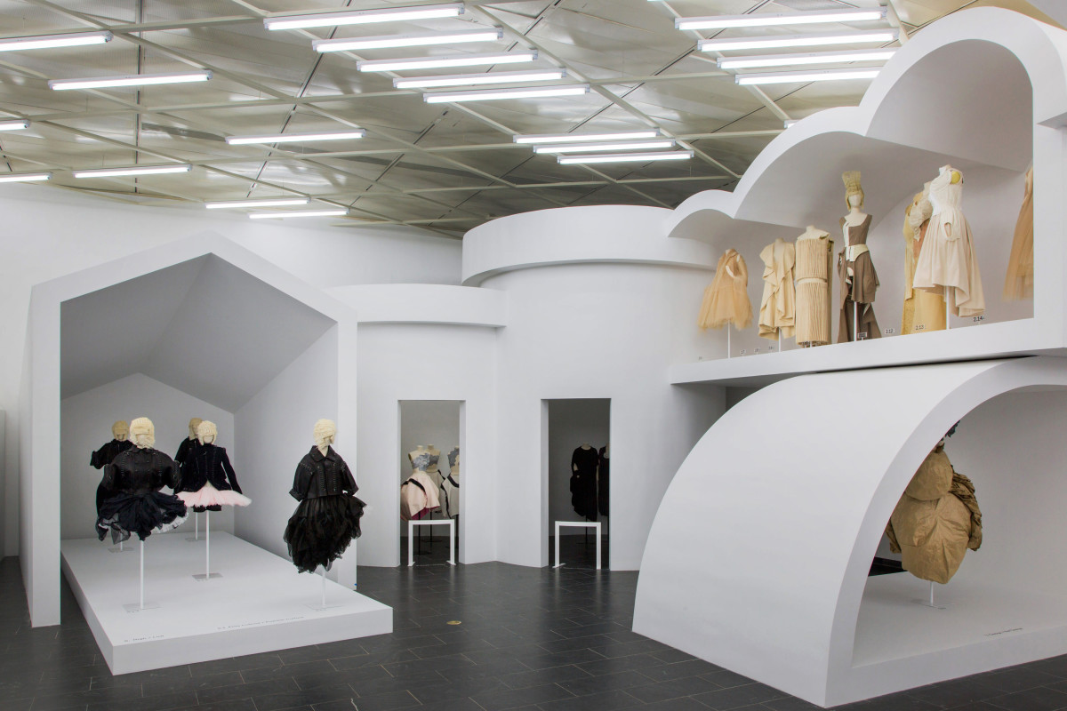 "A view of ""Rei Kawakubo/Comme des Garçons: Art of the In-Between."" Photo: The Metropolitan Museum of Art"