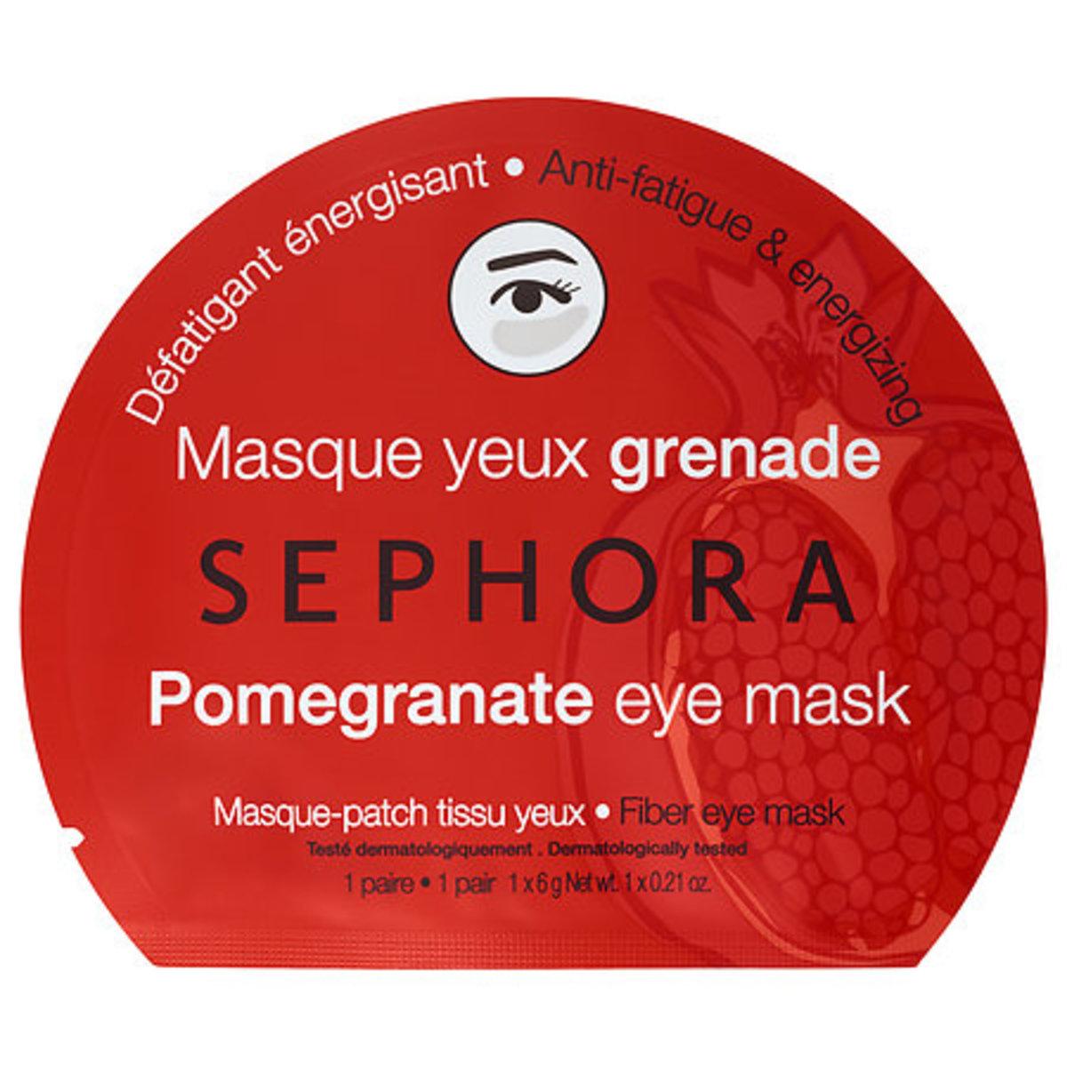 Sephora Pomegranate Eye Mask, $5, available at Sephora.