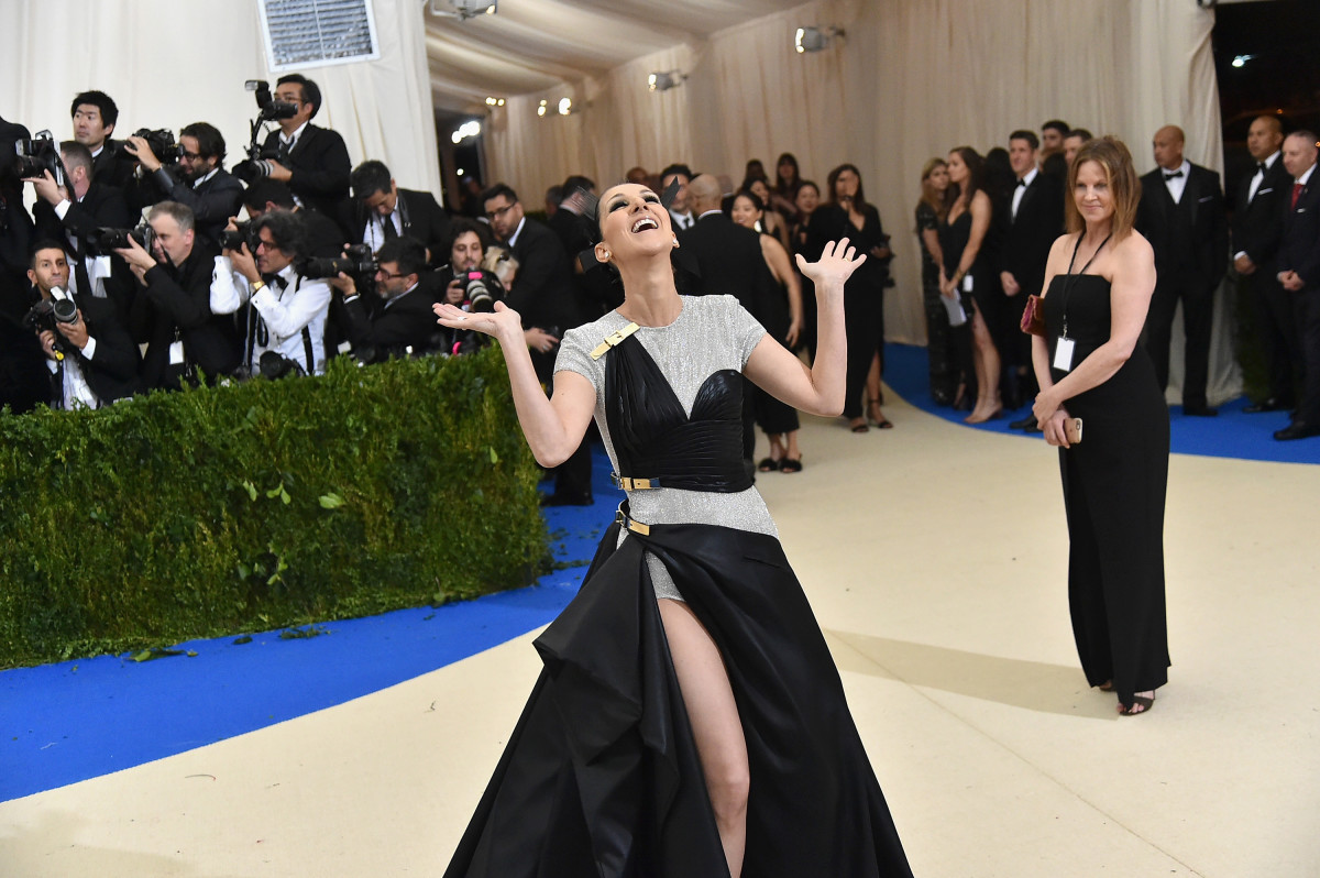 No one had more fun at the 2017 Met Gala than Celine Dion. Photo: Mike Coppola/Getty Images