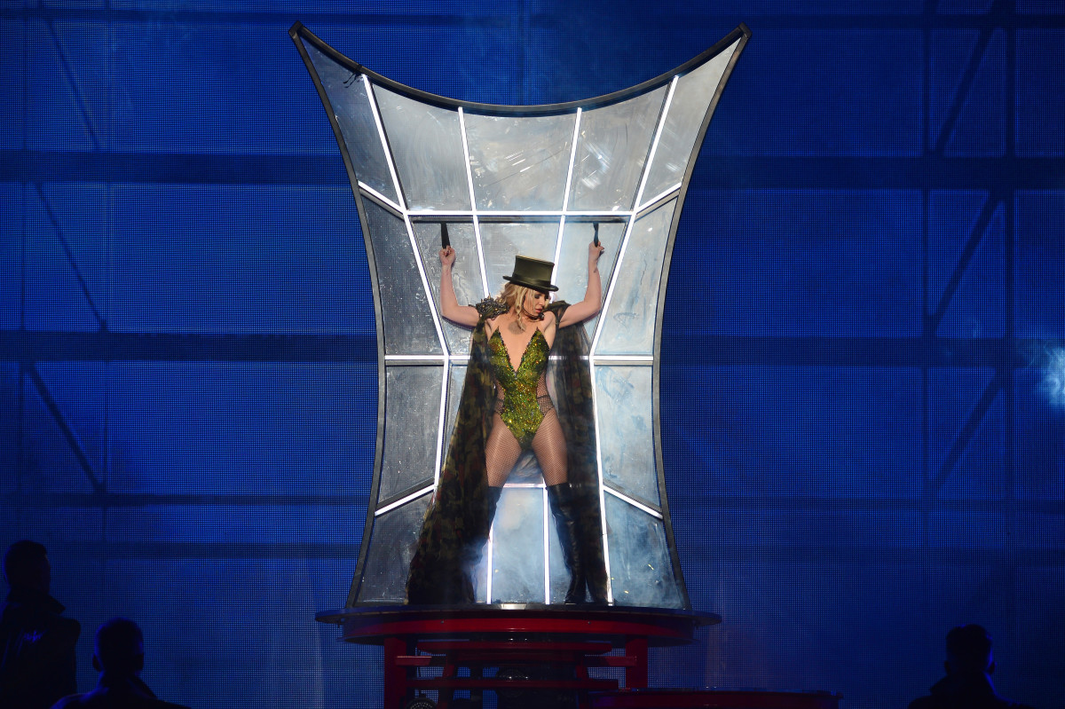 Britney Spears in Nicholas Gibraun. Photo: Denise Truscello
