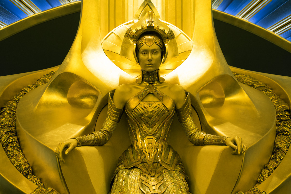 Ayesha (Elizabeth Debicki). Photo: Film Frame/Marvel Studios