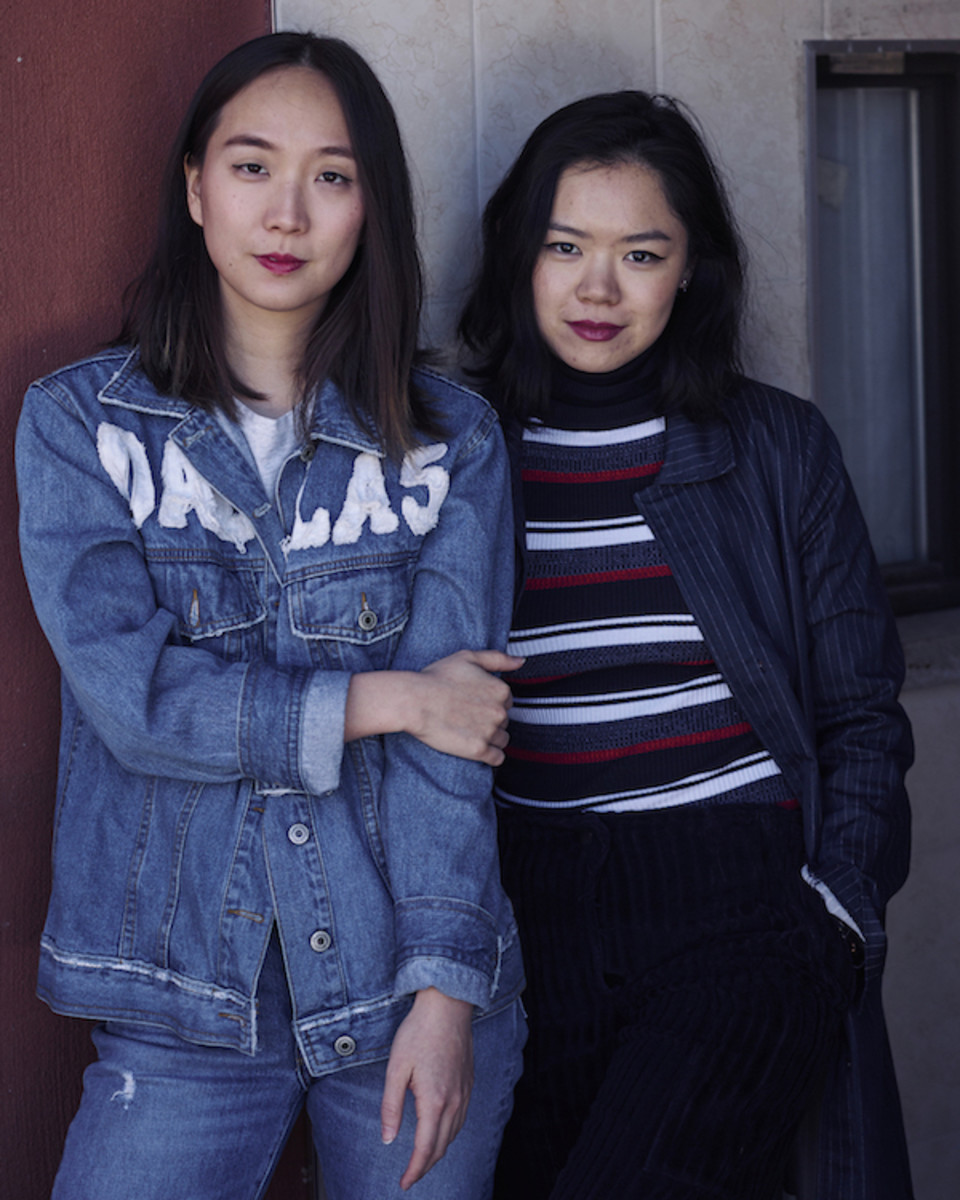 "Kathleen Tso and Vicki Ho of ""Banana"" Magazine. Photo: Courtesy"