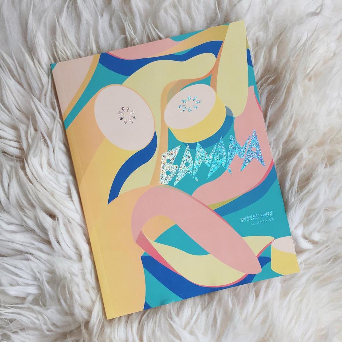 """Banana"" Magazine's Issue 3. Photo: @bananamag/Instagram"