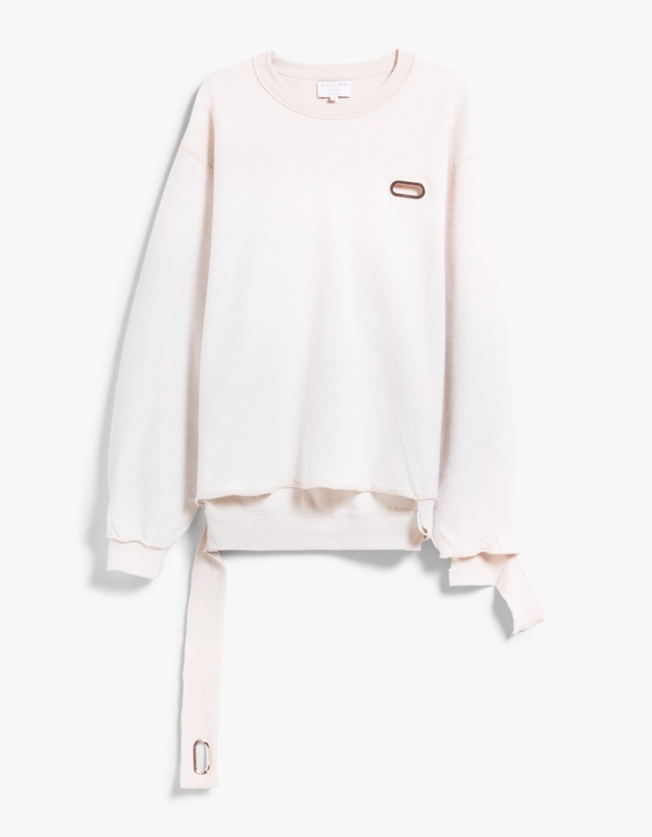 Collina Strada Grommeted sweatshirt, $185, available at Need Supply Co.