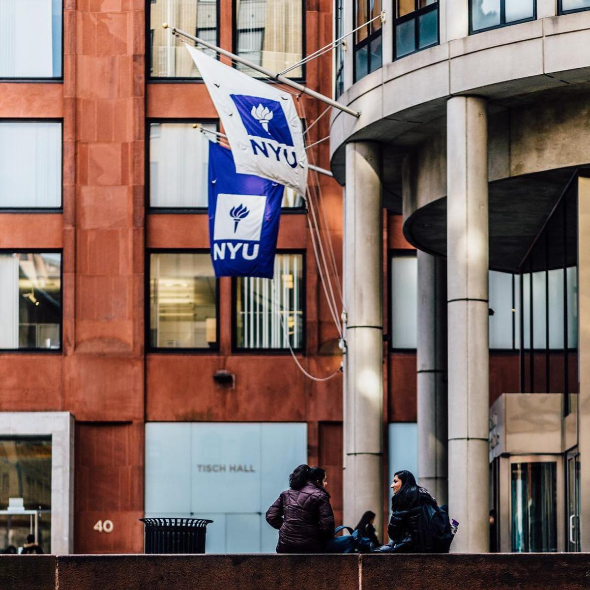 New York University Stern Building. Photo: @nyuniversity/Instagram