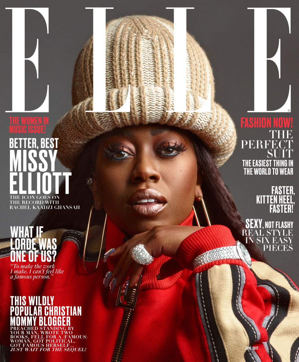 Missy Elliott Wears Marc Jacobs On Her Fantastic Elle Cover Fashionista