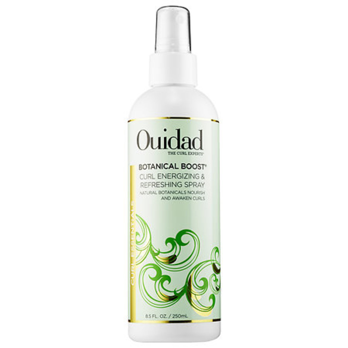 Ouidad Botanical Boost Curl Energizing & Refreshing Spray, $20, available at Ulta.