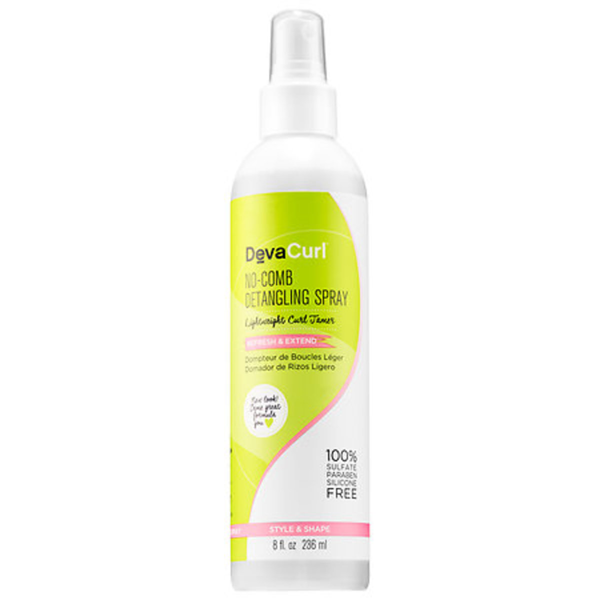 DevaCurl No-Comb Detangling Spray, $20, available at Sephora.