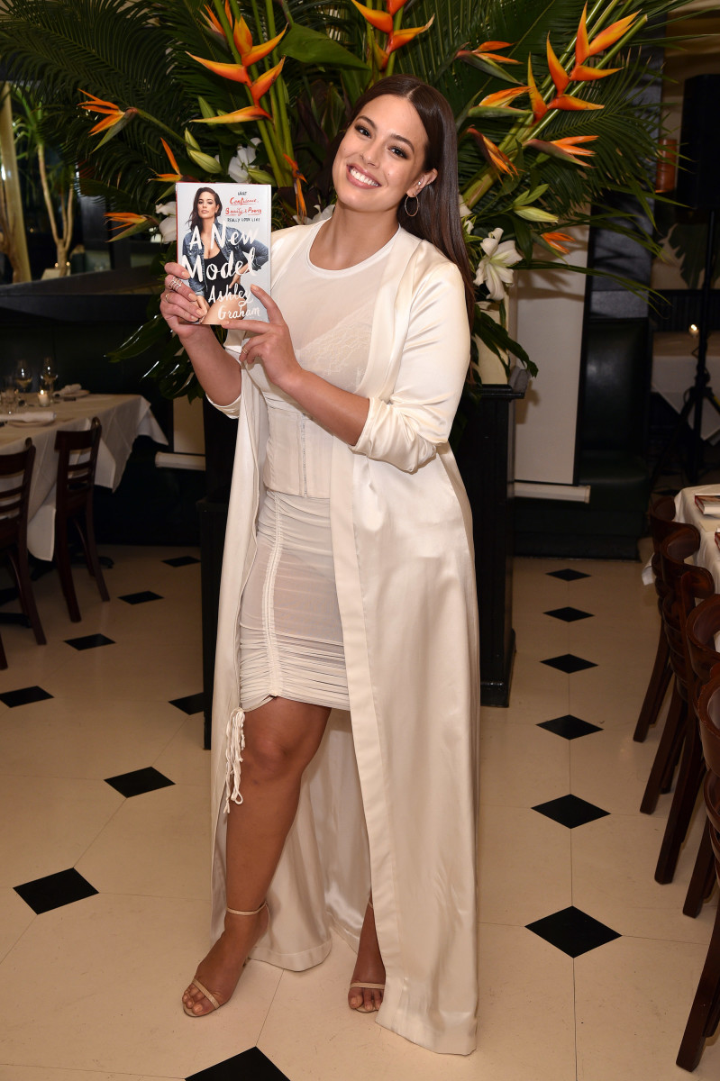 Ashley Graham in August Getty Atelier at her book launch at Indochine. Photo: Bryan Bedder/Getty Images