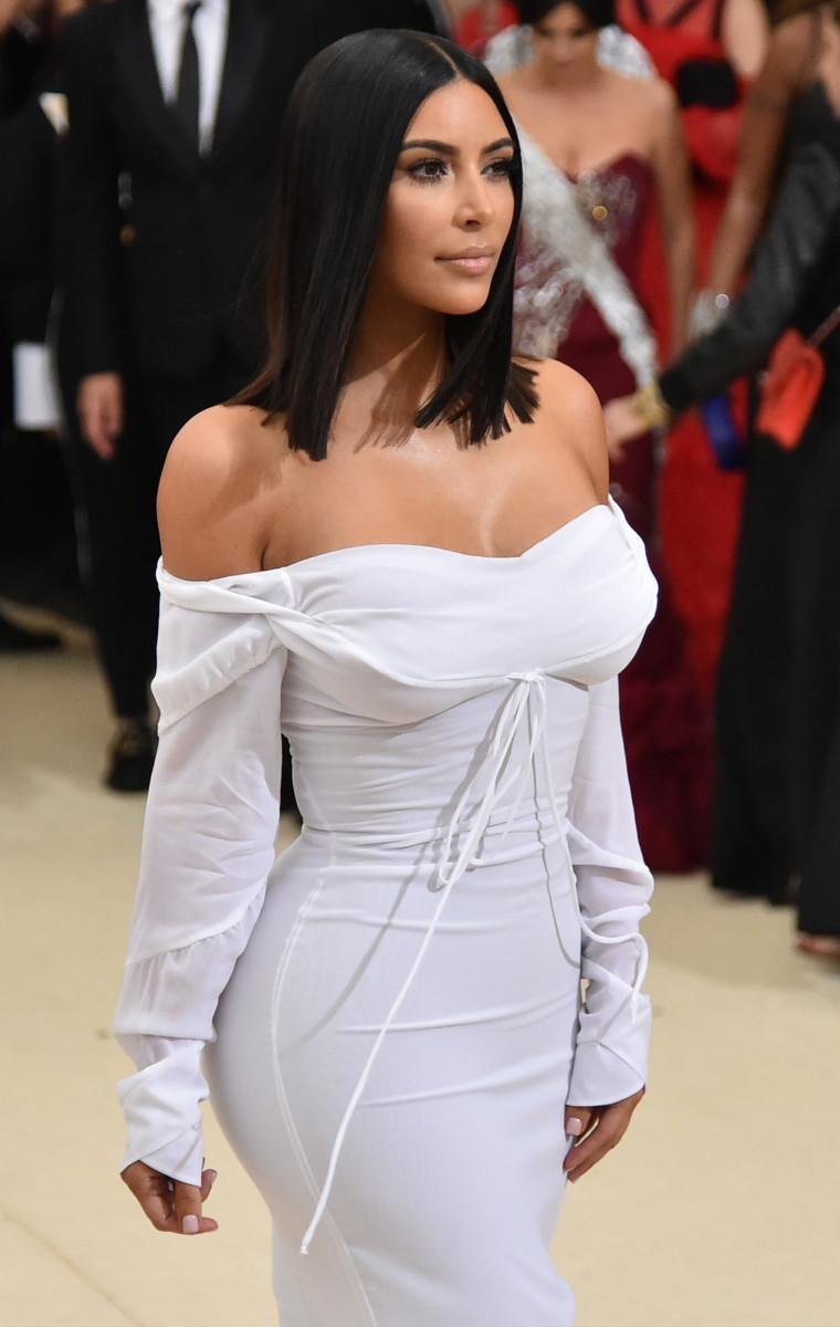 Kim Kardashian at the 2017 Met Gala. Photo: Mike Coppola/Getty Images