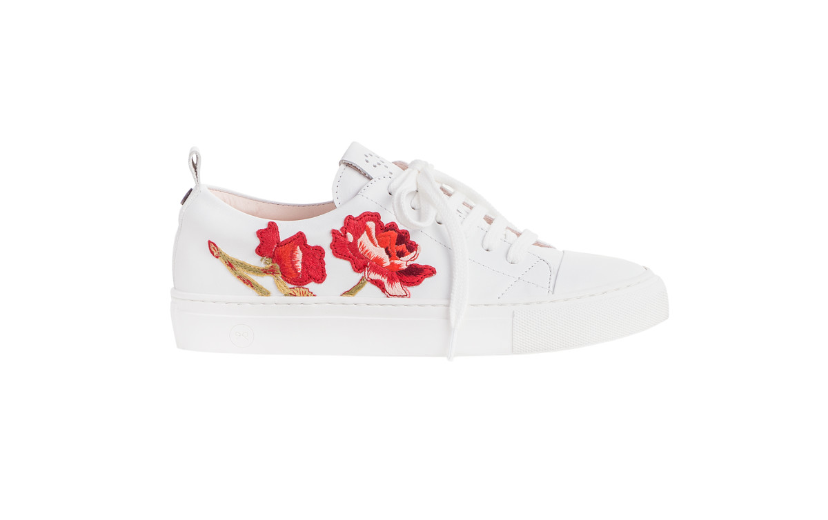 Rose Couture sneakers, $654, available at Josefinas. Photo: Courtesy of Jesfinas