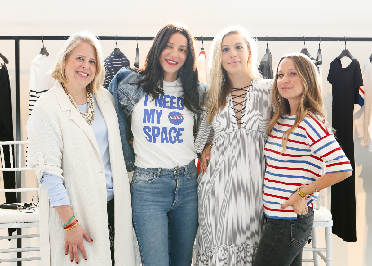Booth Moore, Molly Howard, Jennifer Meyer and Yael Aflalo. Photo: courtesy