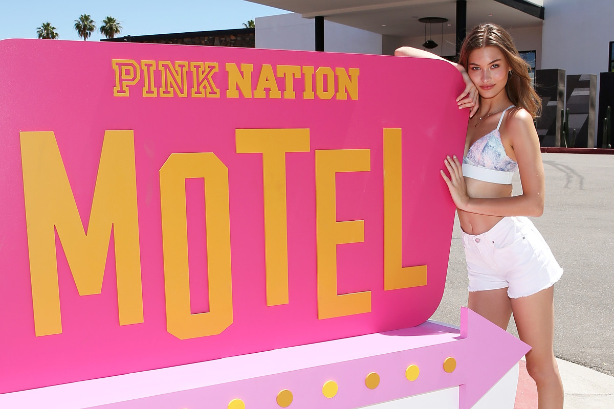 Grace Elizabeth at the Pink Nation event. Photo: Courtesy