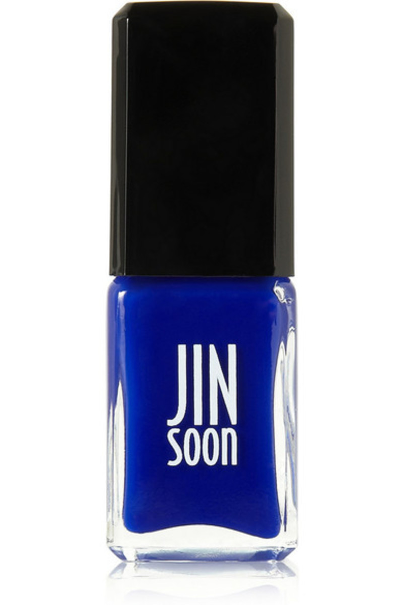 Jin Soon nail polish in Blue Iris, $18, available at Net-a-Porter.