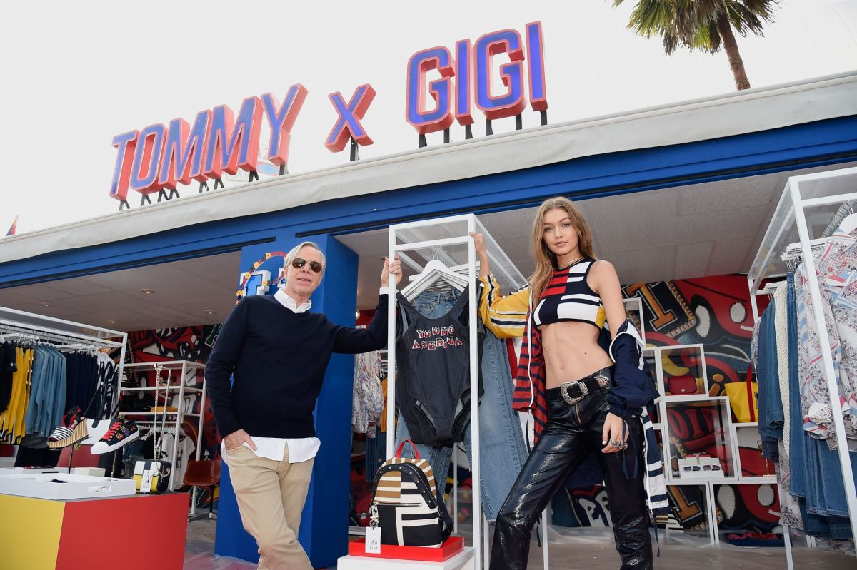 2cf46b09c495a Dynamic duo Tommy Hilfiger and Gigi Hadid. Photo  Courtesy