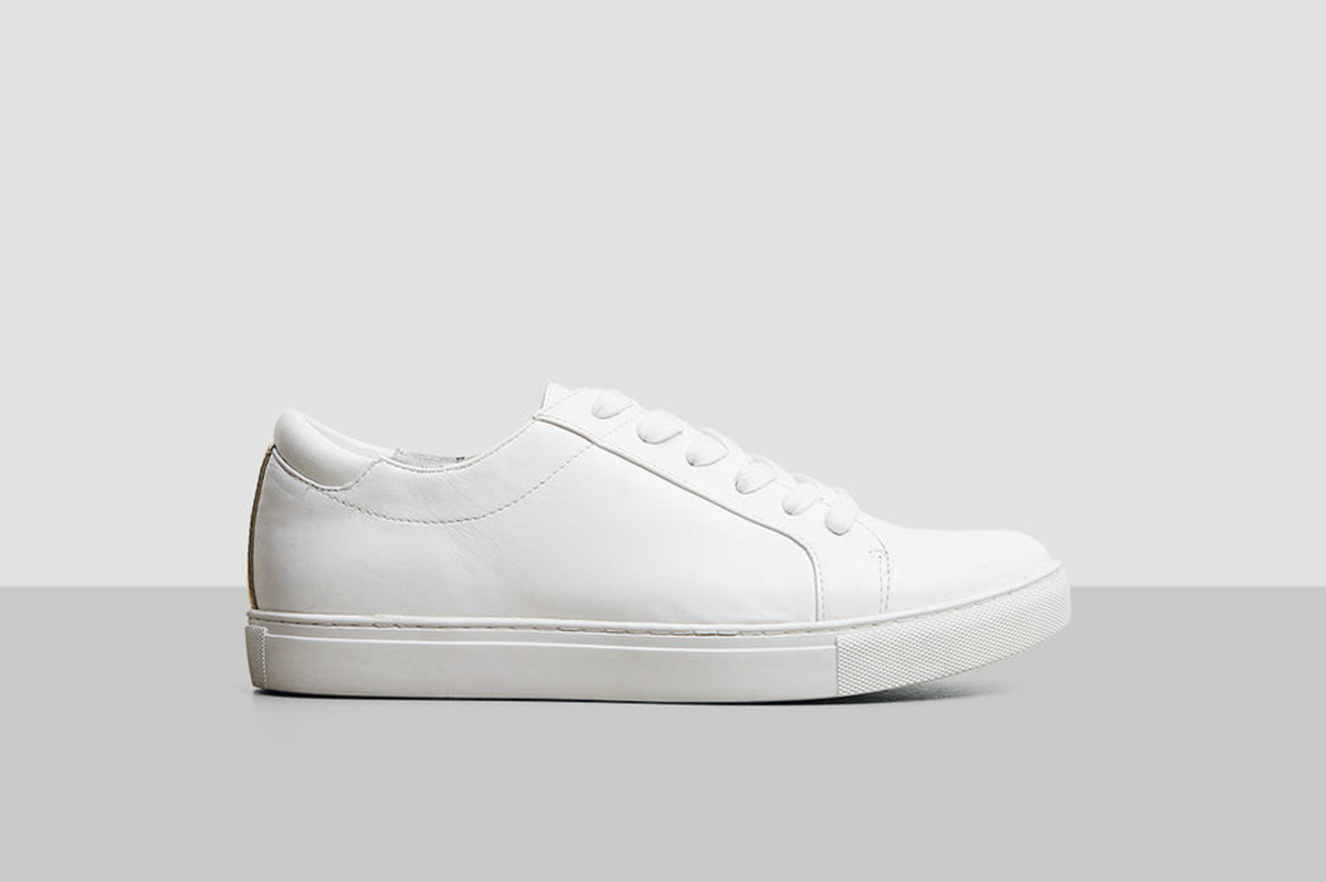 "Kenneth Cole ""Kam"" leather sneaker, $120, available at Kenneth Cole."