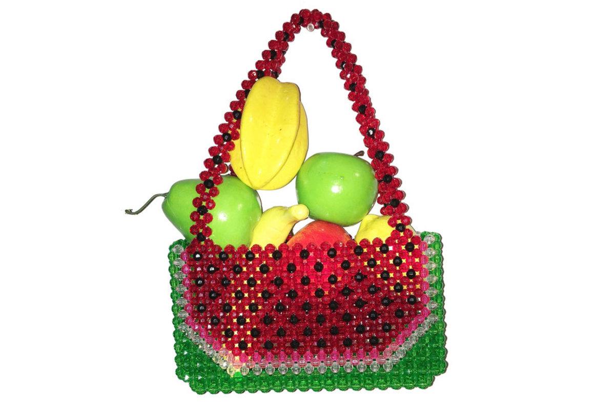 Susan Alexandra Watermelon Dream Clutch, $145, available at Susan Alexandra.