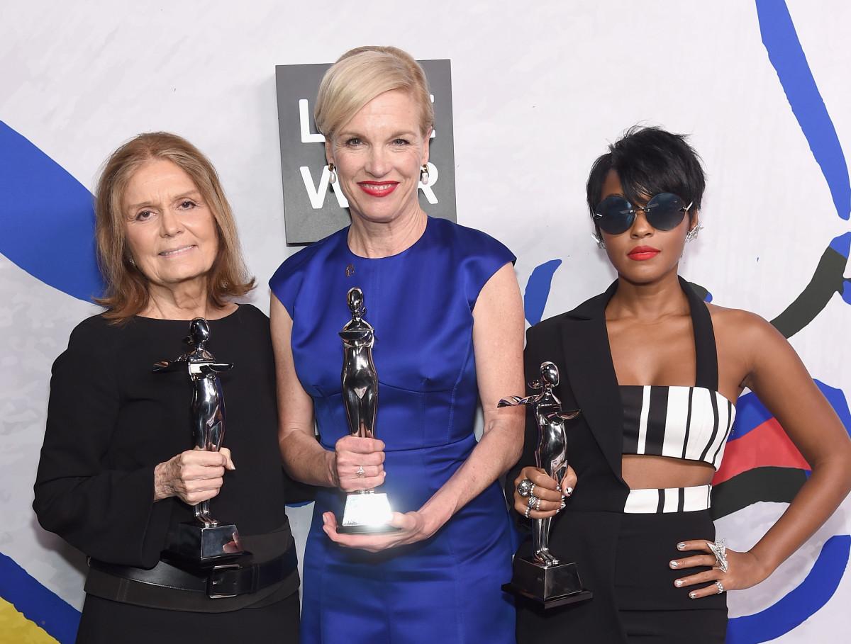 Gloria Steinem, Cecile Richards and Janelle Monáe