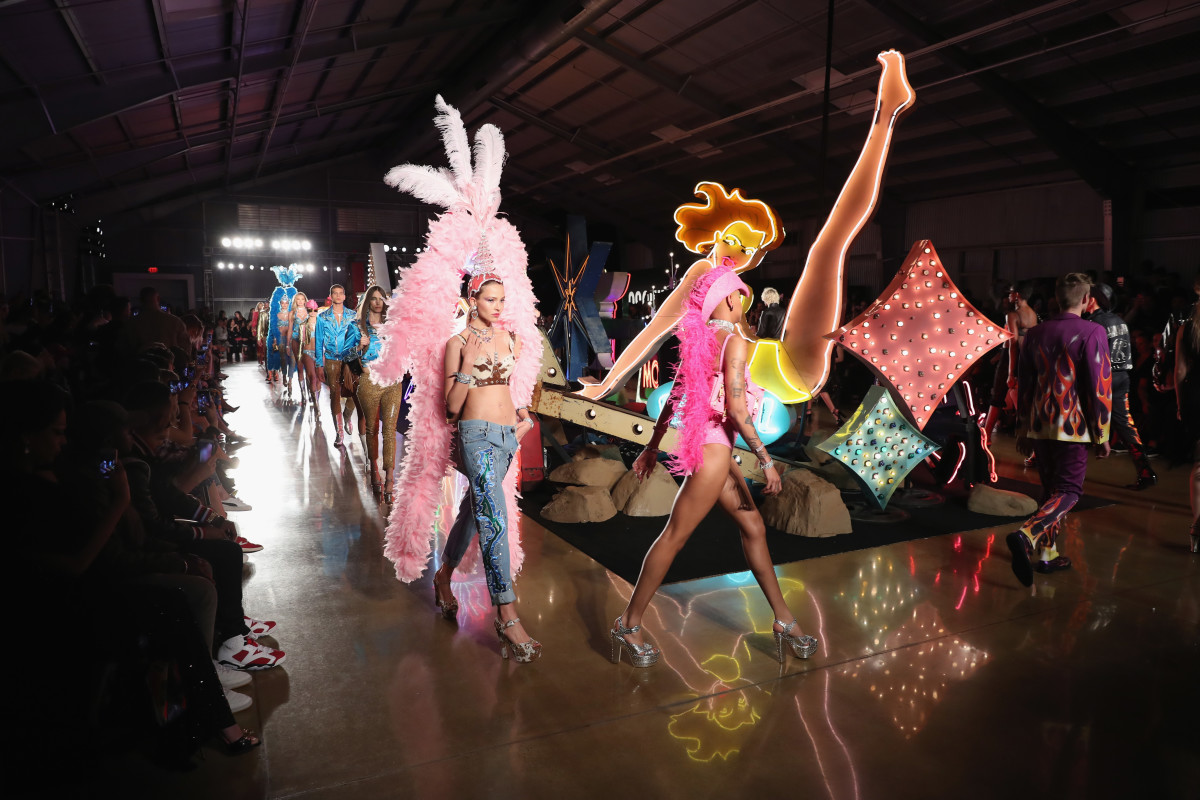 Photo: Neilson Barnard/Getty Images for Moschino