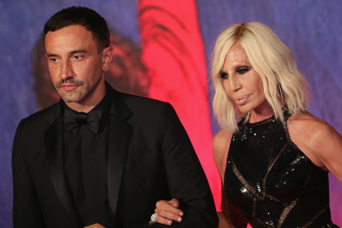 Riccardo Tisci & Donatella Versace