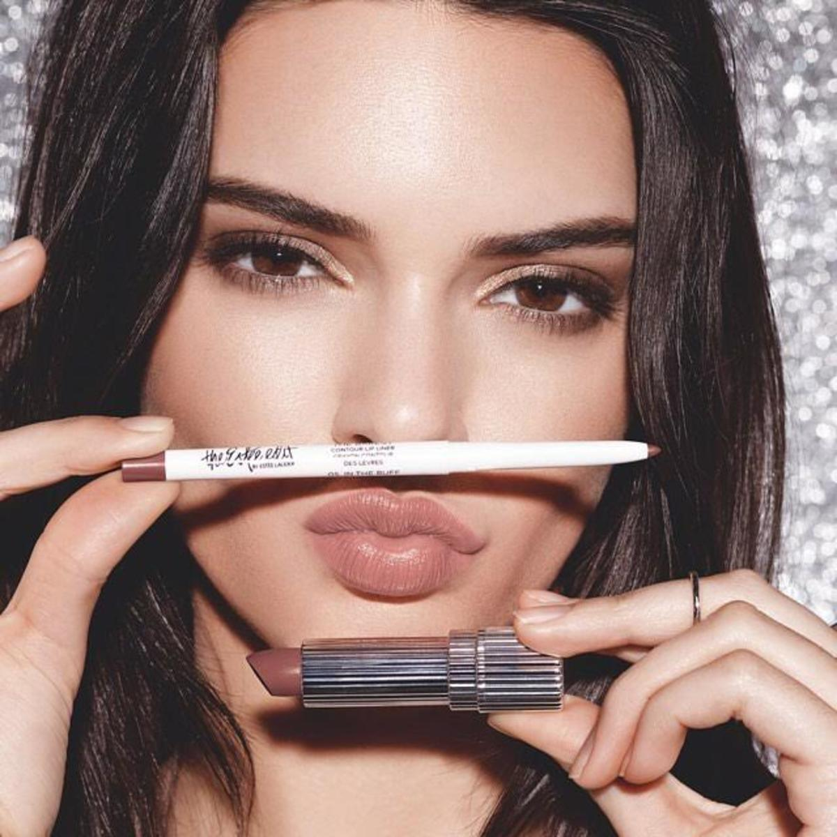 Kendall Jenner for The Estée Edit. Photo: @esteeedit/Instagram
