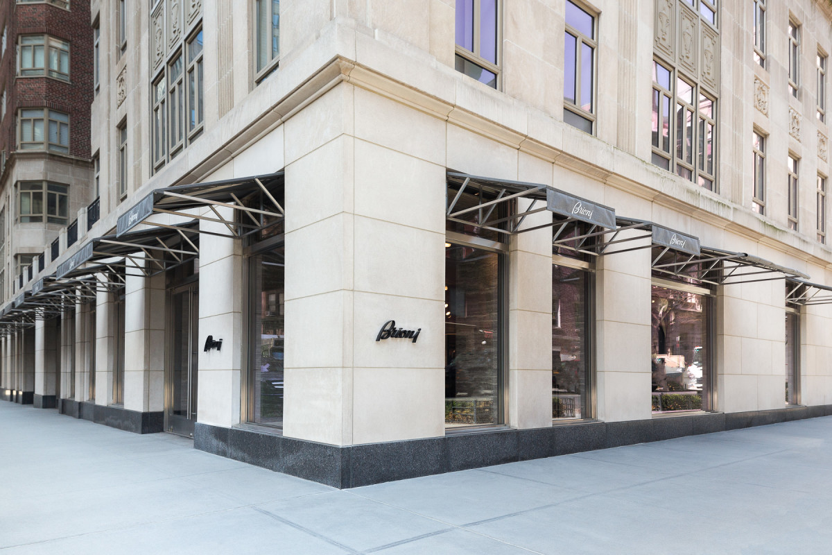 Brioni's New York flagship. Photo: Courtesy
