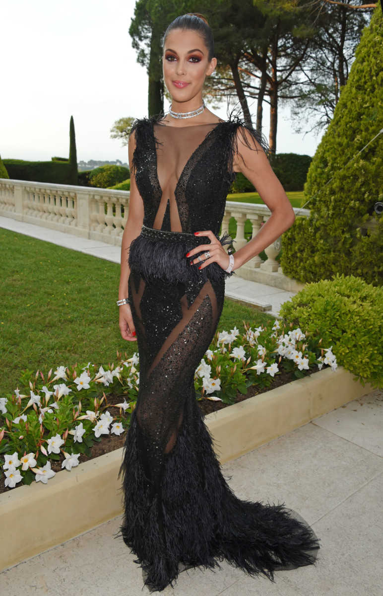 Iris Mittenaere at the 2017 amfAR Gala during the Cannes Film Festival. Photo: Dave Benett/Getty Images