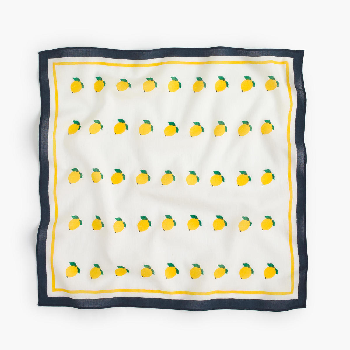 J.Crew Lemon-print bandana, $12.50, available at J.Crew