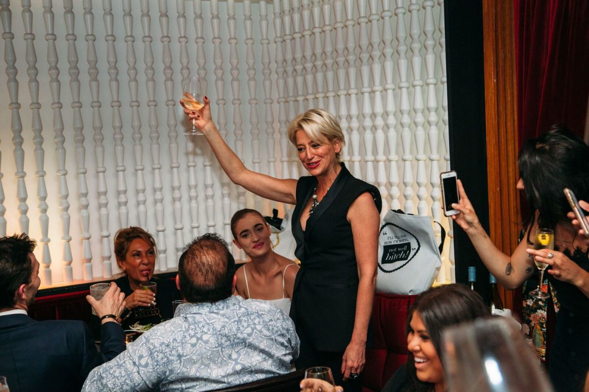 I Got Tipsy And Talked Fashion With Dorinda Medley Of The Real Housewives Of New York City Fashionista