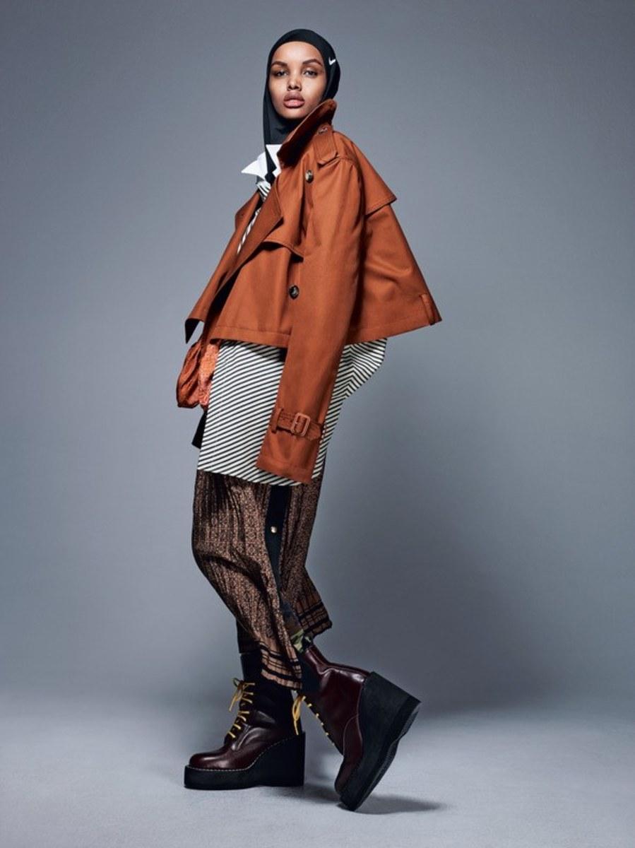 Halima Aden for Allure. Photo: Sølve Sundsbø/Allure
