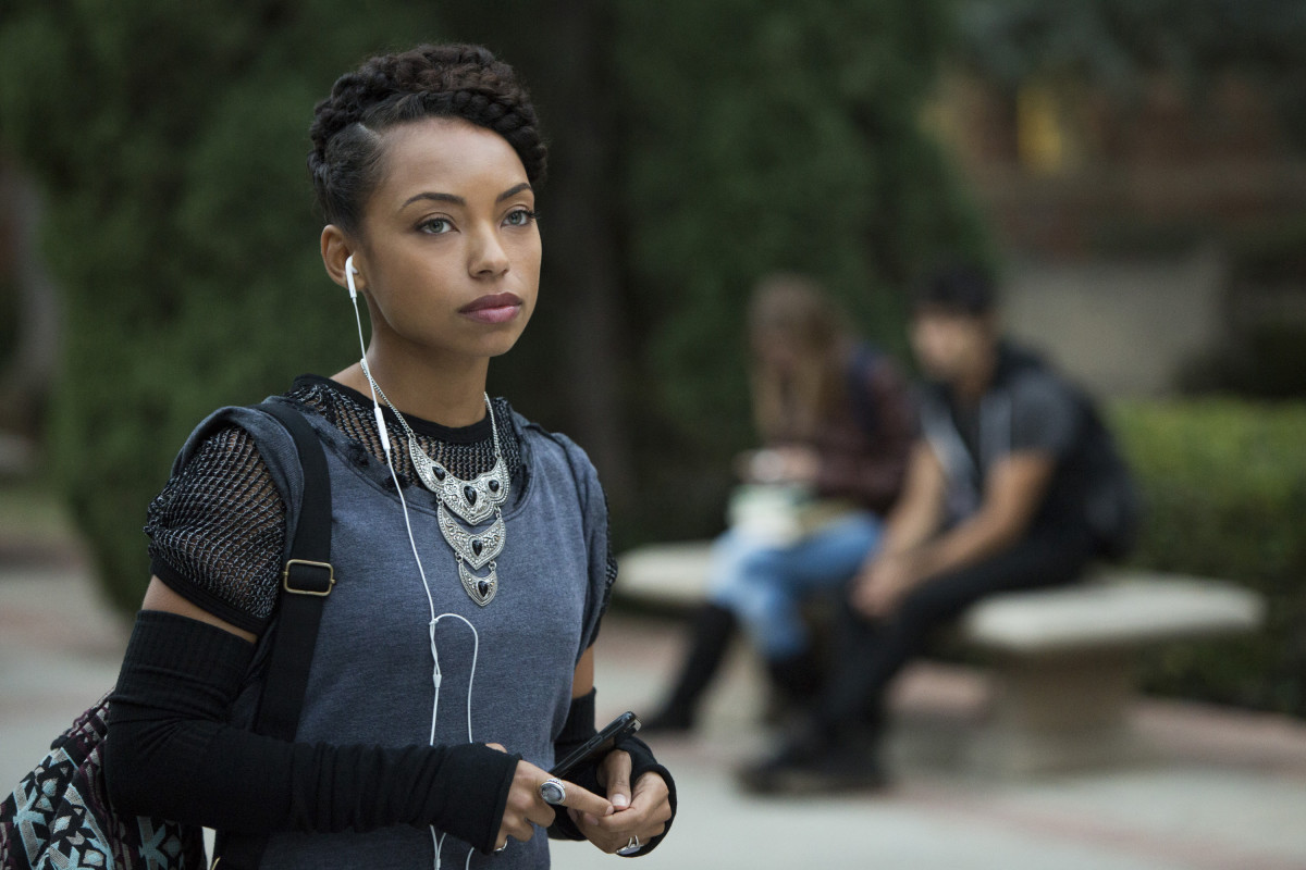 Logan Browning as Sam White. Photo: Adam Rose/Netflix