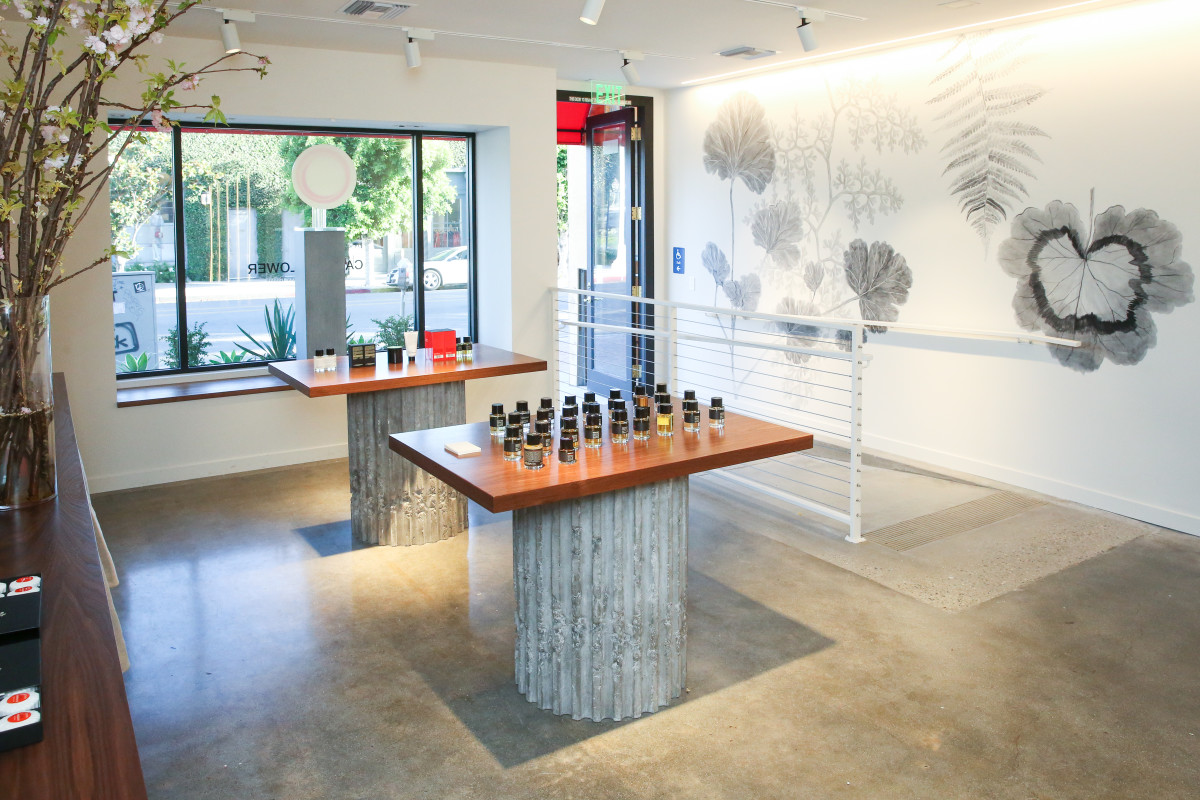 Inside Frederic Malle's new Los Angeles store. Photo: Marc Patrick for BFA.com