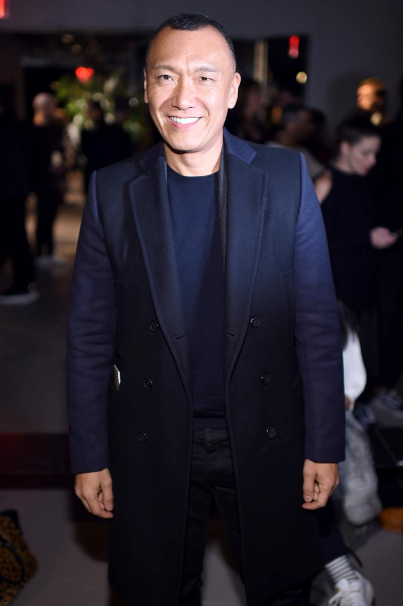 Joe Zee at New York Fashion Week. Photo: Dimitrios Kambouris/Getty Images