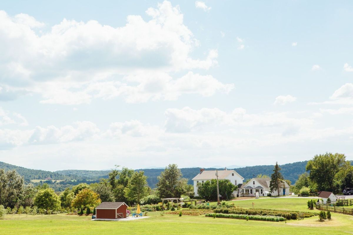 The Tata Harper farm. Photo: Courtesy of Tata Harper