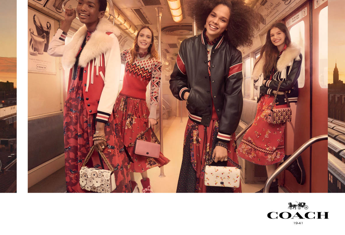 Coach 1941's Fall 2017 campaign. Photo: Steven Meisel/Courtesy of Coach