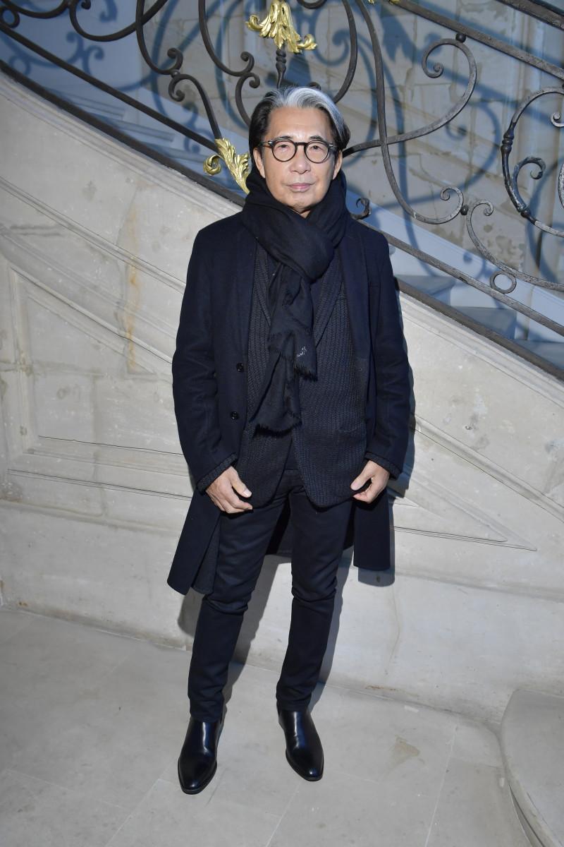 Kenzo Takada. Photo: Victor Boyko/Getty Images for Kenzo