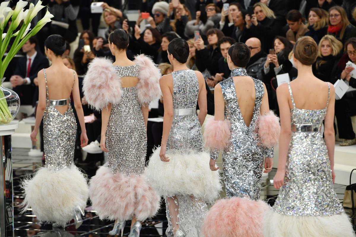 Chanel Haute Couture show in Paris. Photo: Pascal Le Segretain/Getty Images