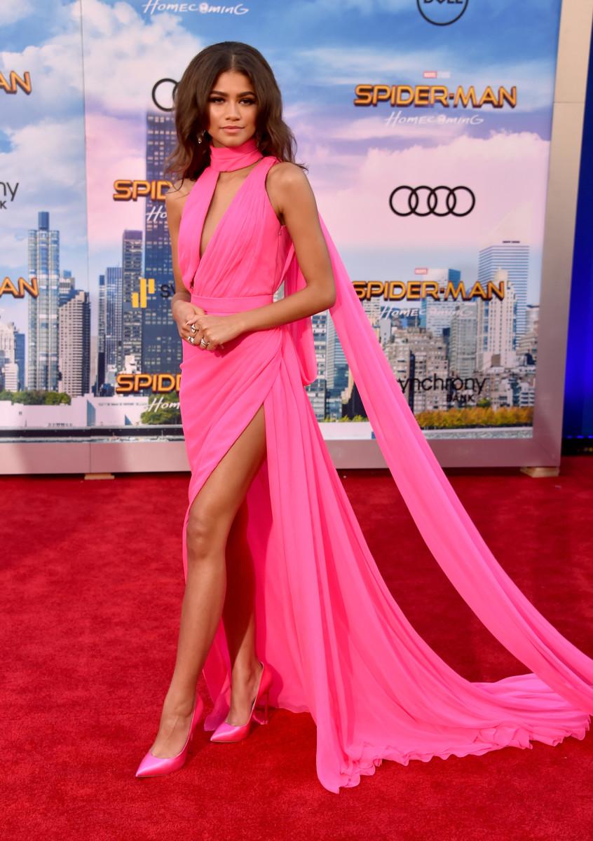 Zendaya's Barbie vibes. Photo: Alberto E. Rodriguez/Getty Images