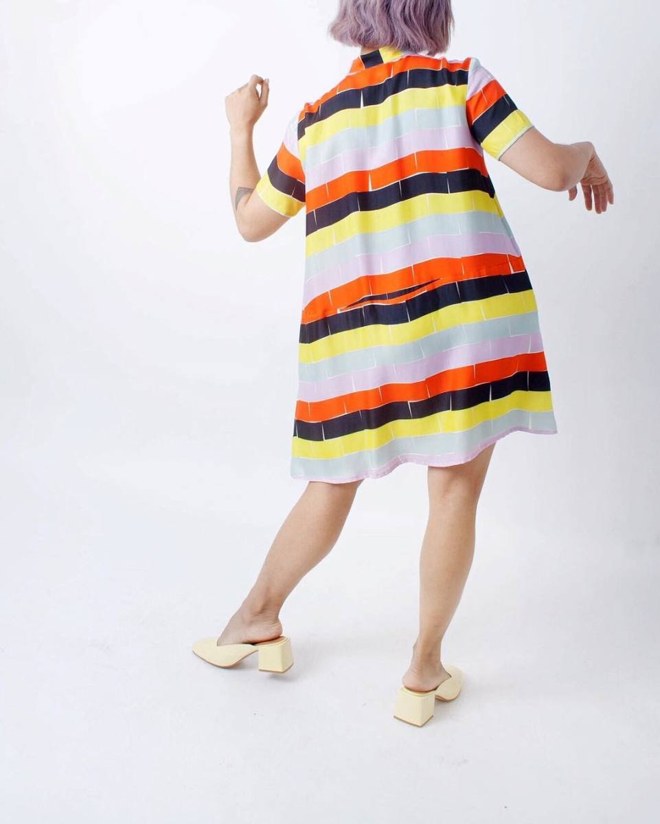 Dusen Dusen oversize tee dress, $302, available at Stature.