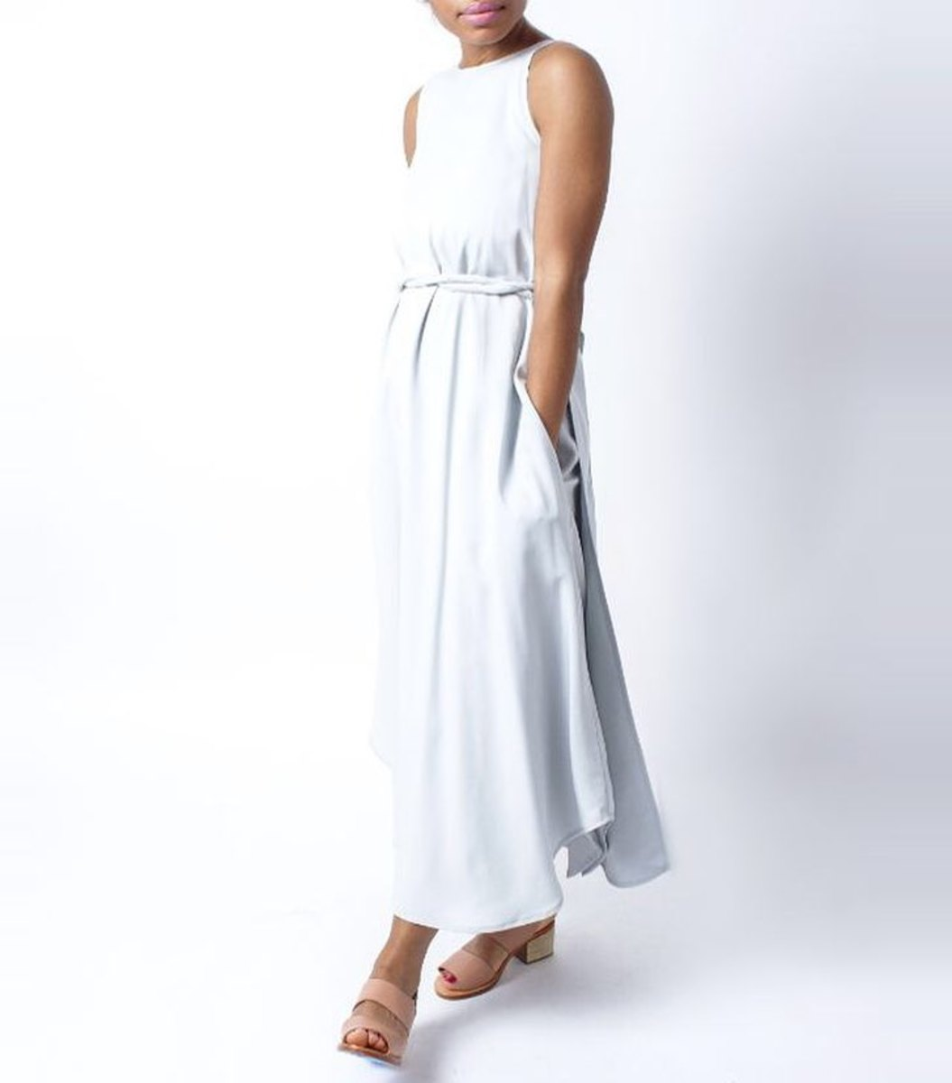 Hackwith Design House wrap dress, $425, available at Stature.