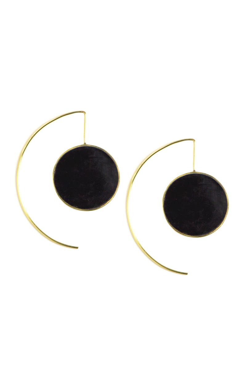 Soko x Accompany horn threader earrings, $72, available at Accompany