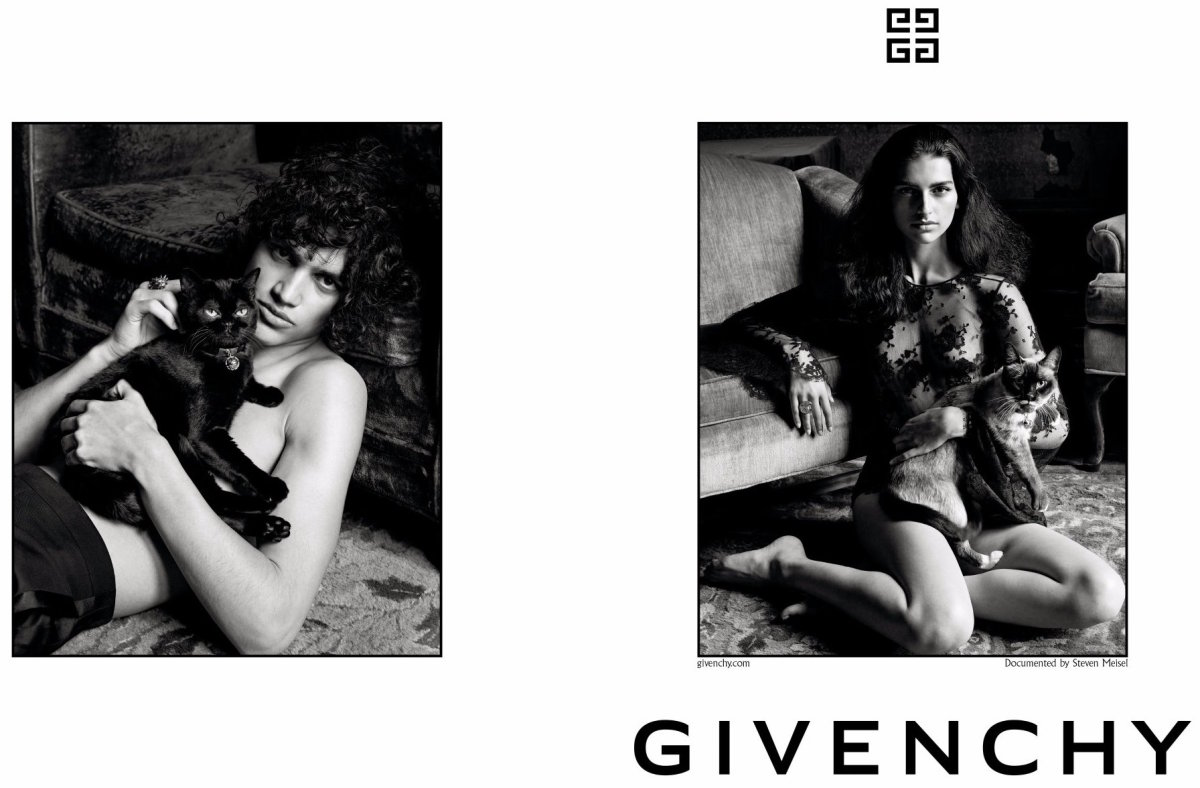 Steven Meisel's ad for Givenchy. Photo: Steven Meisel/Givenchy