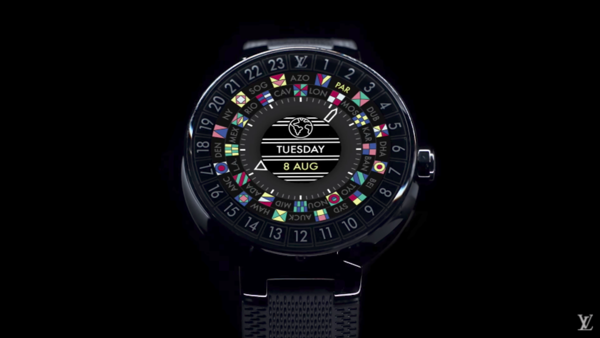 louis vuitton is getting into the smartwatch game