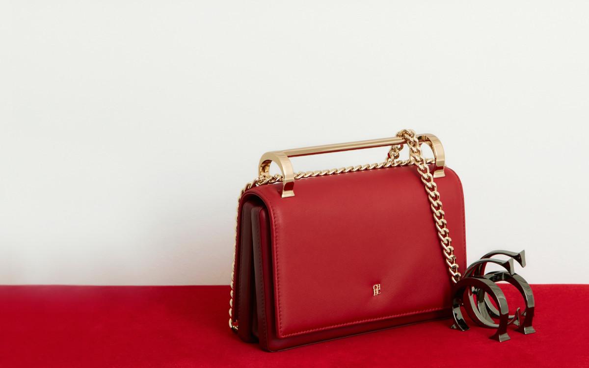 CH Carolina Herrera's Insignia Bag. Photo: M2Malletier